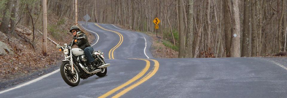 Along winding roads